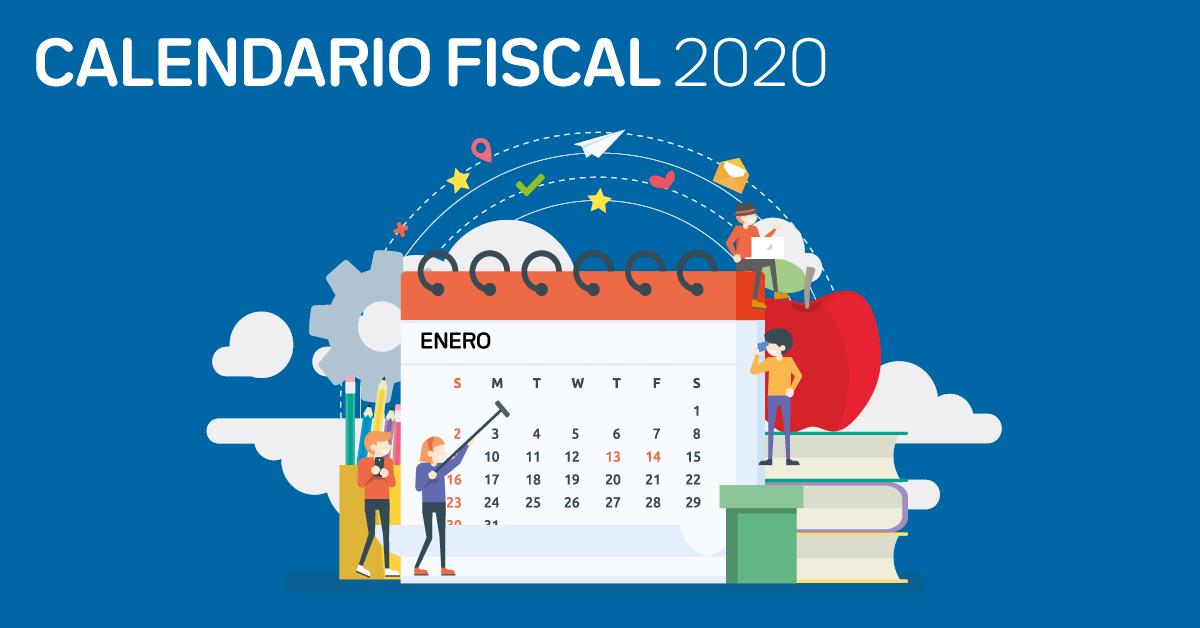 Calendario fiscal 2020 autónomos
