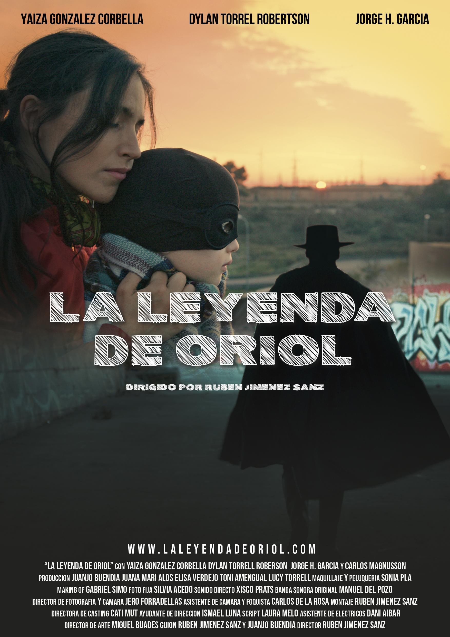 poster La Leyenda de Oriol