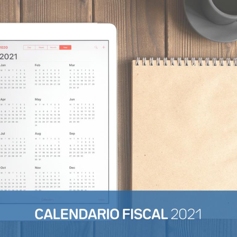 Calendario fiscal 2021 autónomos